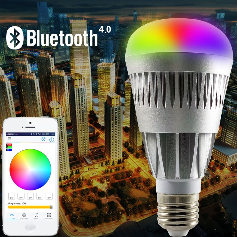 hot sales products Android IOS RGBW 3 led light white port clip on spot usb light bulb lamp