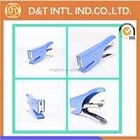 Hot metal book binding stapler with different colors