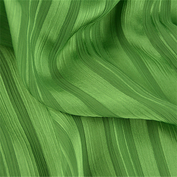 Factory Wholesale Woven Green 100 % Polyester Glitter Tulle Fabric