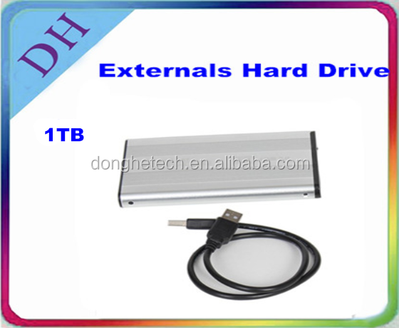 hot sales! Wholesale external hard disk drive/ usb hard drives / external harddrive 1tb