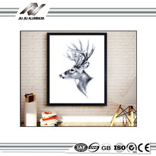 a4 size decoration aluminum picture photo frame for sale