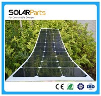 95W Mono flexible solar panel good quality thin film flexible solar panel manufacturers in China