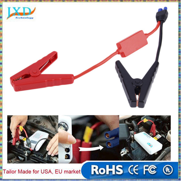 High quality clips for car emergency jump starter / Auto engine booster storage battery clamp accessories connected
