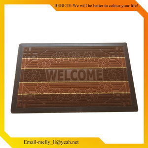 Adhesive-Protective Floor Door Mat Reusable Pp Plaited Placemat
