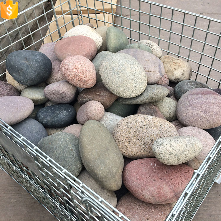 large polished pebble stones garden pebbles and stones
