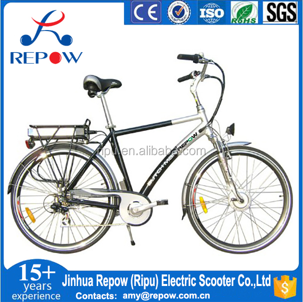 brushless motor electric bike 250W alloy frame lithium battery RPM7001 bafang/8 fun drive motor