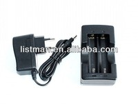 3.7V Recharge Batteries Digital/Video Camera Travel charger,18650 battery smart charger,4.2V cylindrical battery cell Charger