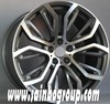 different finishing alloy wheel used to cars F2026