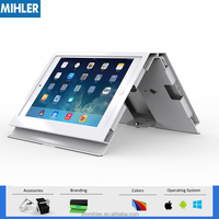 Lockable Tablet PC Display Stand With