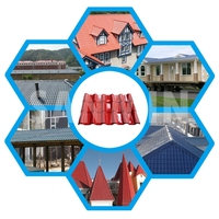 Superior Quality Plastic Corrugated ASA Lowes Roofing Shingles Prices