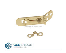 Solid Brass Hasp and Hook