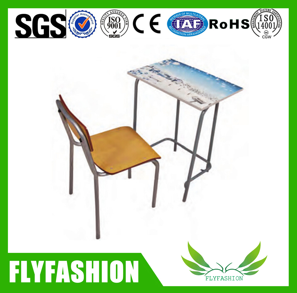 Cheap Used Classroom Student Children study desk and chair