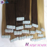 Hot Beauty New Best Selling 100% Human Hair High Quality Tape Hair Extensions