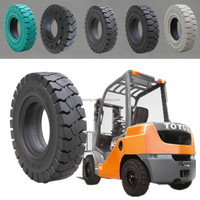 China hot sale forklift parts solid forklift tires 14-17.5 for toyota with high quality