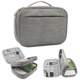 Digital Storage Bags Double Layers Travel Gadget Organizer Electronics Accessories Carry Bag for USB Cables, Power Bank
