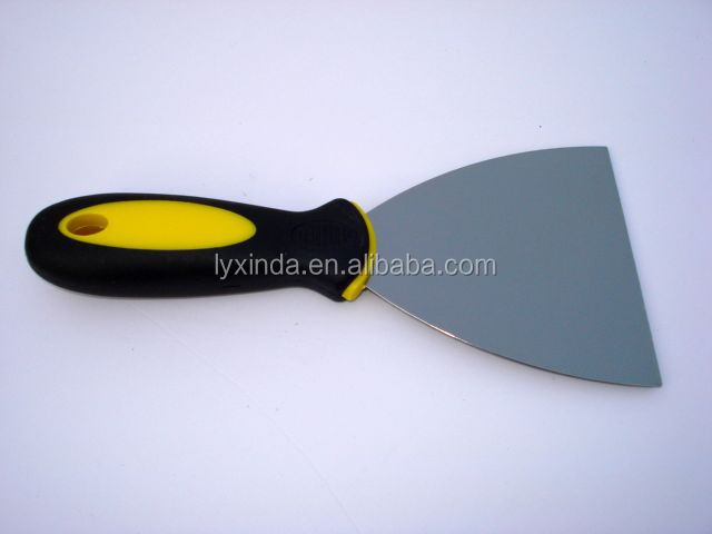 good quality rubber handle stainless steel paint scraper