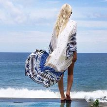 2017 New Arrival Summer Fashion Short Lace Sexy Women White Crochet Kimono