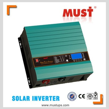 15KVA pure sine wave LED+LCD display inverter with bypass function