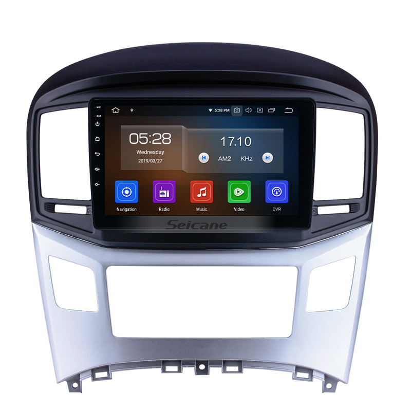 9 inch Android 9 Car Radio for 2016 2017 2018 HYUNDAI <strong>H1</strong> with WIFI USB MUSIC BLUETOOTH support Steering Wheel Control