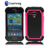 2014 hotting hot pink tpu back cover case for samsung i8190/galaxy s3 mini i8190