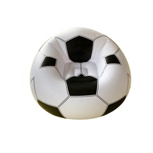 Bean Bags Lazy Sofa Inflatable Leisure Plastic Sofa Lounge Chair Football For Indoor Home <strong>Furniture</strong>