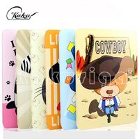 new design wholesale PU leather 8 inch silicone tablet case