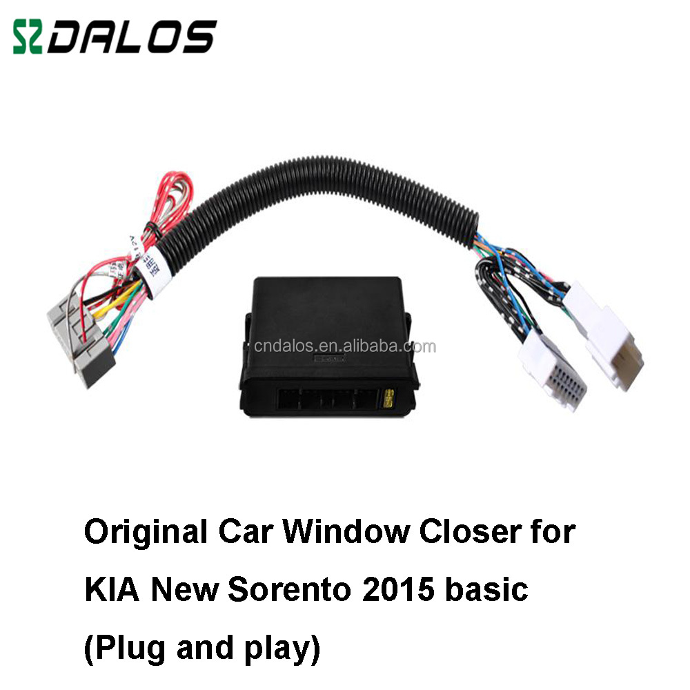 Security System Auto Window Closer Power Window Roll Up Close Module