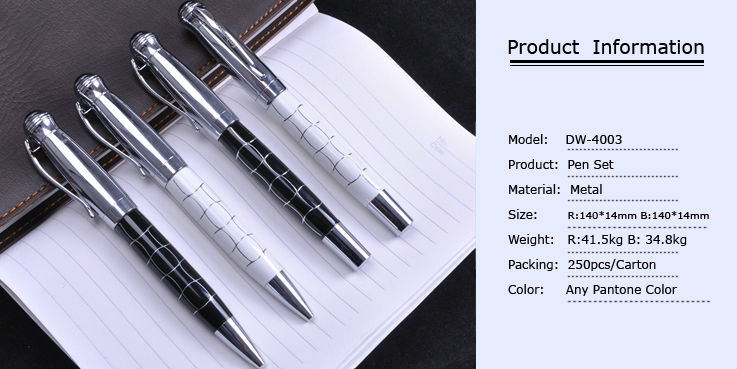 luxury new design metal pen set,promotional pens