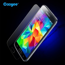 Clear tempered glass screen protector for samsung galaxy s5, tempered glass for galaxy s5