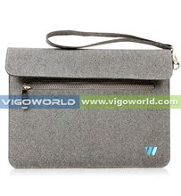 Felted wool sleeve cover pouch case for iPad mini