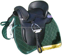 Black Spanish Horse Saddle