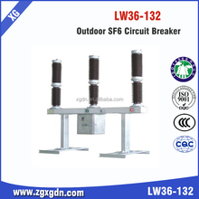 LW36-132kV Types Outdoor SF6 gas circuit breaker