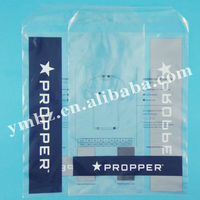 T-shirt packing bags for underwear and cpp self adhesive seal bag