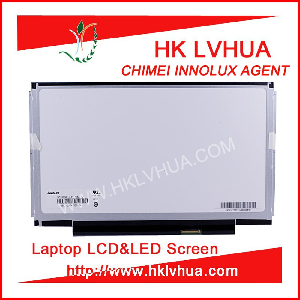 second hand 13.3 inch lcd monitor screen N133BGE-L41 for ASUS laptop cheap price in China