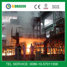 Submerged arc furnace for ferro silicon production smelting