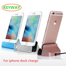 2017 Hot sale Universal 3 in 1 USB Mobile Phone Charging Holder Station Desktop Sync Dock Charger For iphone
