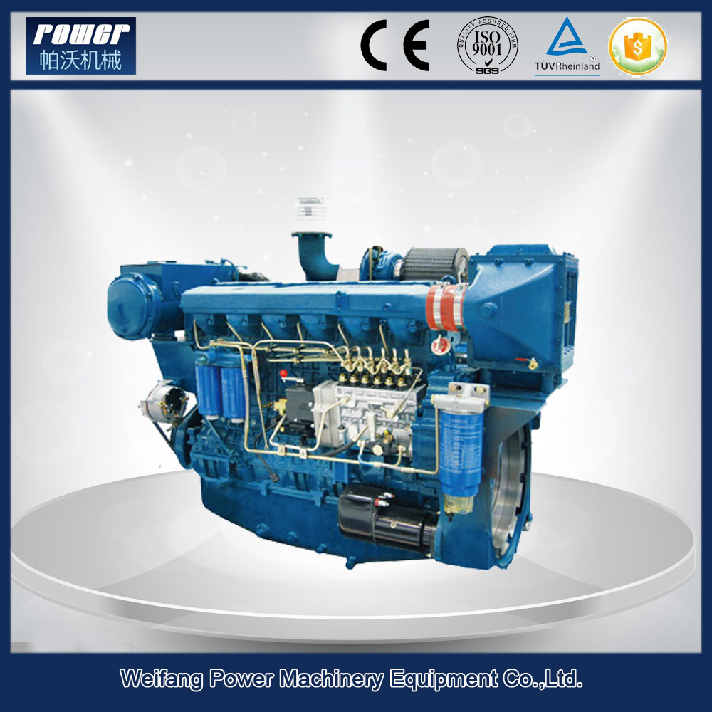Weichai Steyr marine diesel engine with gearbox