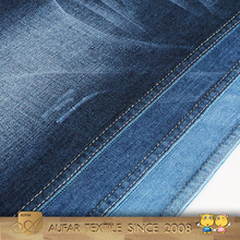 High quality woven stretch cotton denim fabric for jeans
