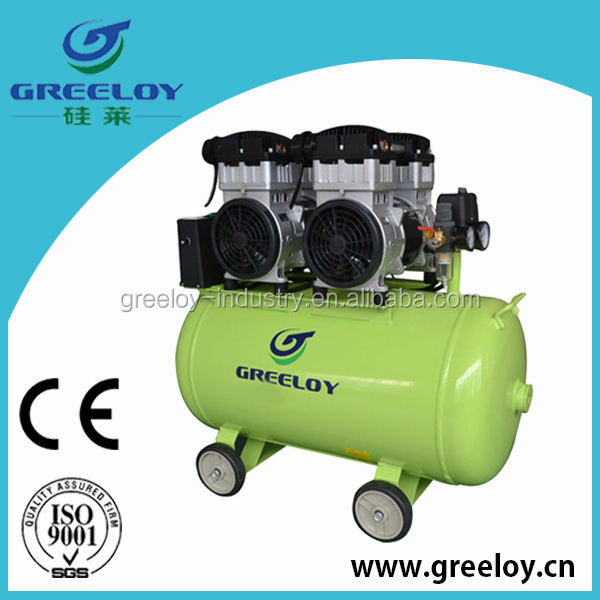 best sell high flow oil free compressor timer with big tank capacity