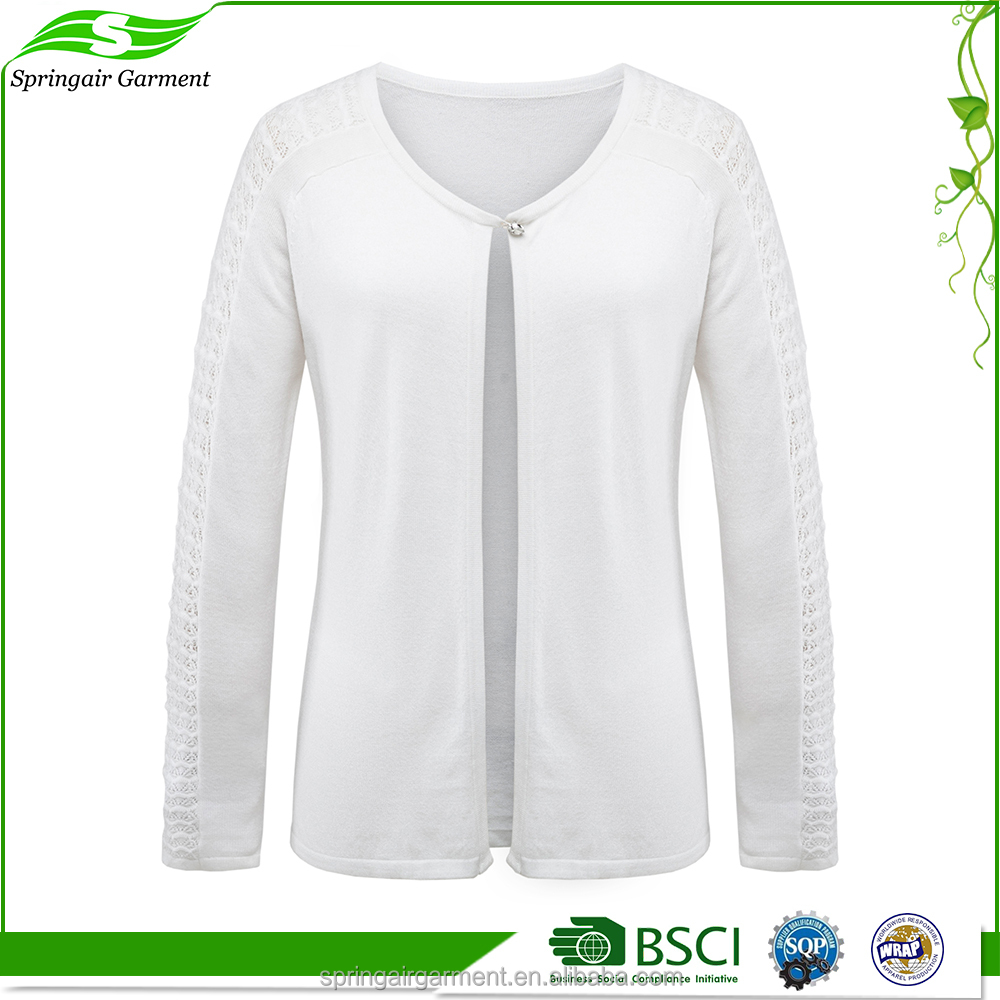 Customized cheap designs pictures cardigan women plus size sweater