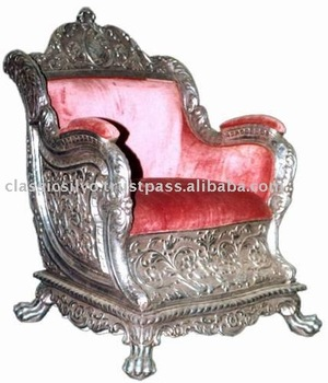 Antique king chair