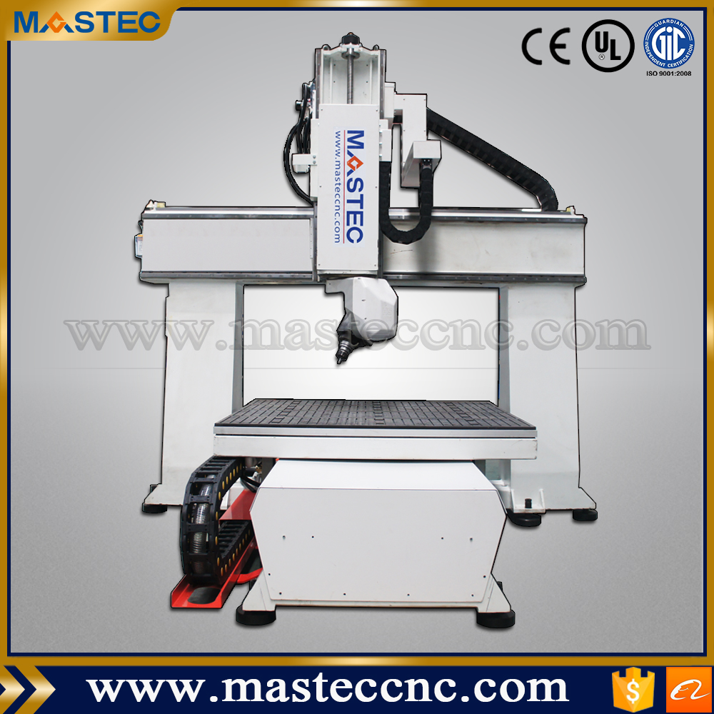 High quality five axis cnc router woodworking cutting machine