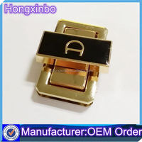 Hongxinbo offer Rectangle fashion metal purse twist lock hardware from China