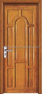 luxury interior solid wood french door for villa YHC-1323