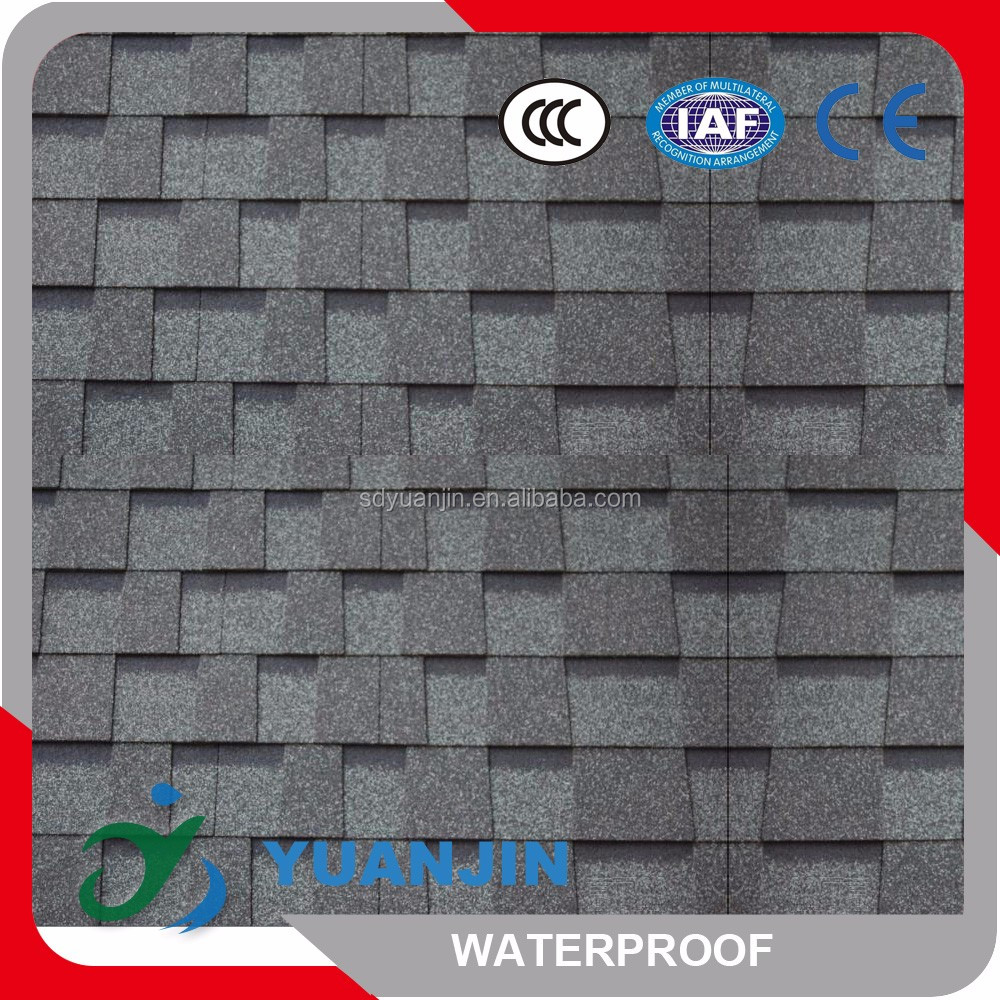 China Cheap Building Materials , Laminated Asphalt Roof Shingles