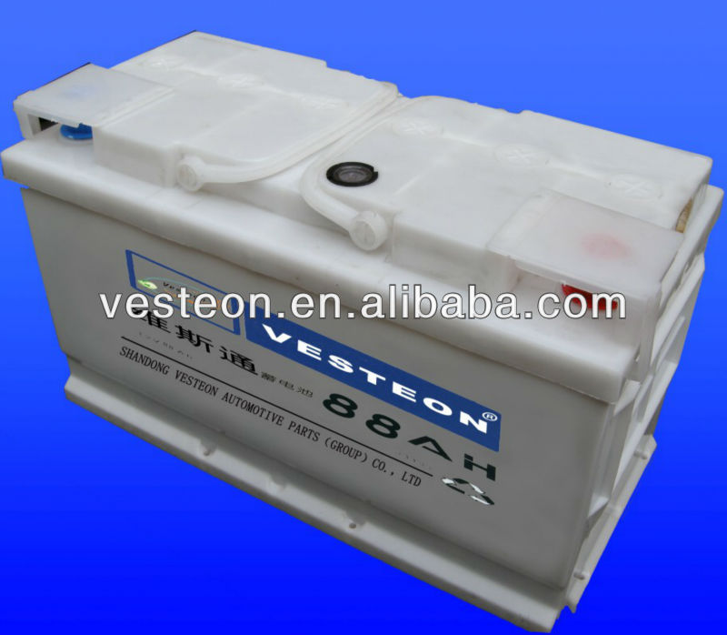 12V Chinese Car Battery DIN88