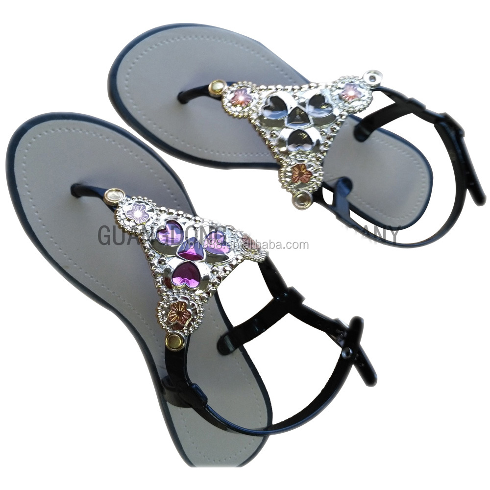 ladies fashion design pvc comfortabe <strong>sandals</strong> open-toed breathable <strong>sandals</strong>