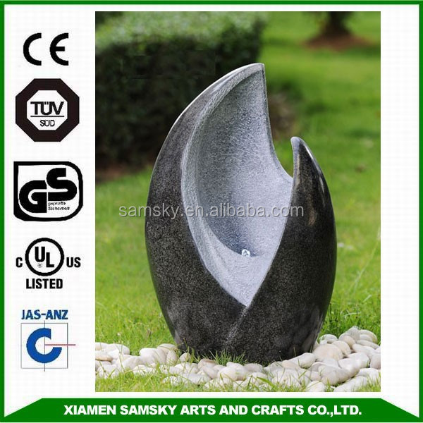 WATER FEATURE WITH LED LIGHT GARDEN WATER FOUNTAIN