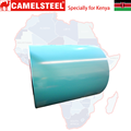 Kenya prepainted color coated galvanized steel plate