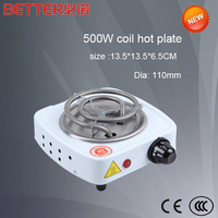 500w Single Hotplate Electric Hot Plate China stove tops